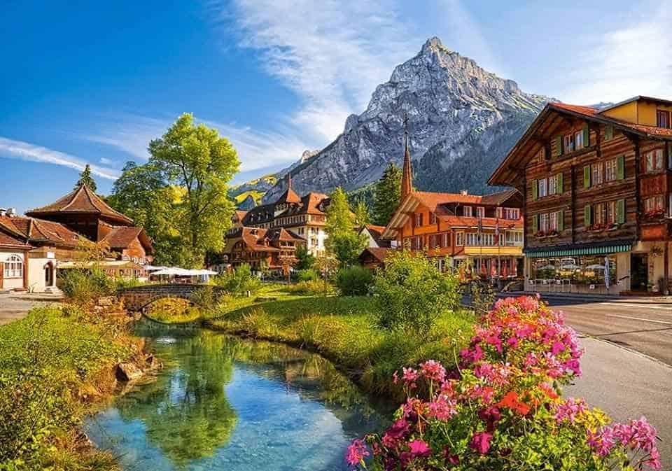 رحلتي الى سويسرا بالصور
