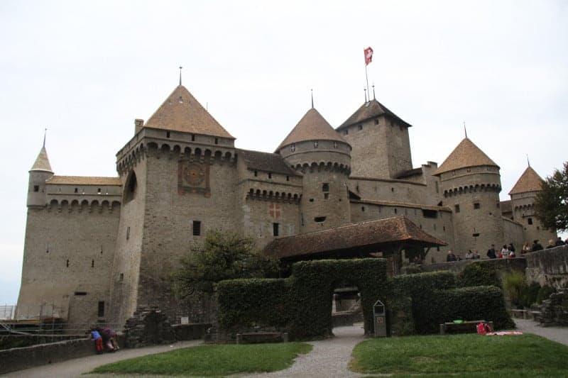 قلعة Château de Chillon