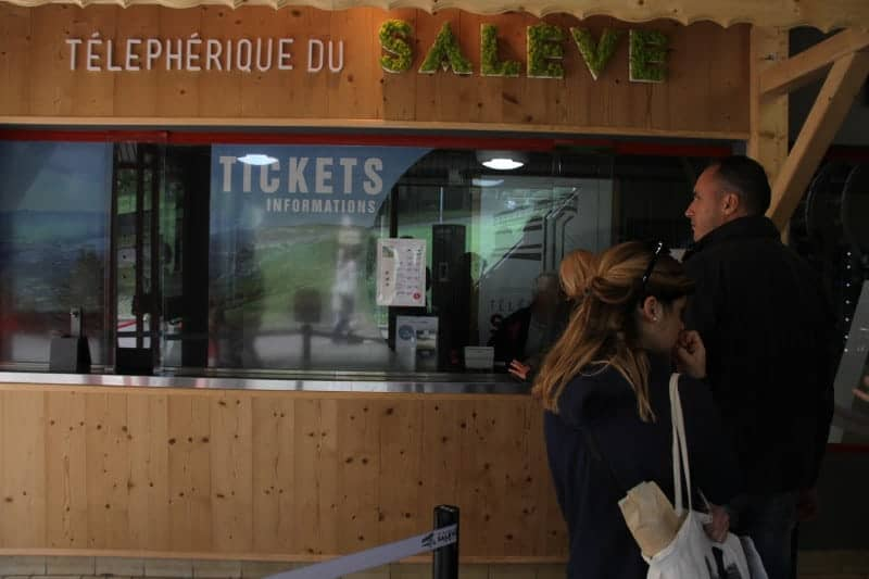 محطة التلفريك Téléphérique du Salève