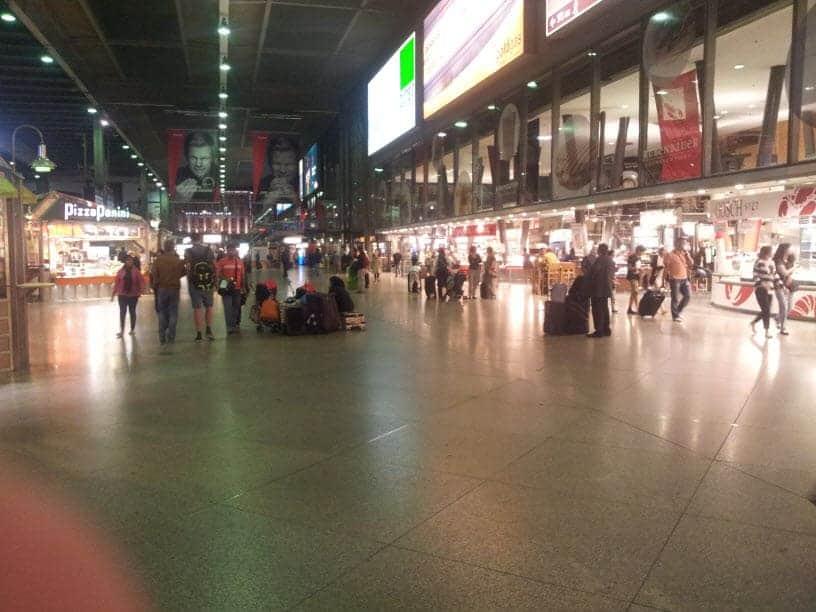 محطة القطارات في ميونخ