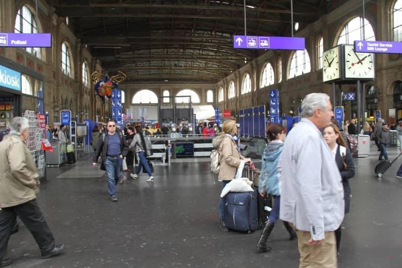 محطة القطار الرئيسية
