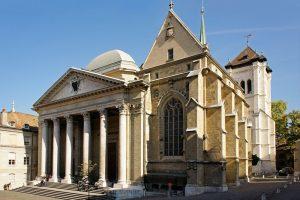الذهاب الى  كنيسة Temple de Saint-Pierre