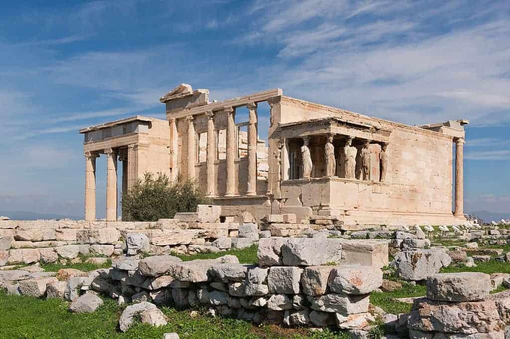 زيارة اكروبوليس في اثينا اليونان