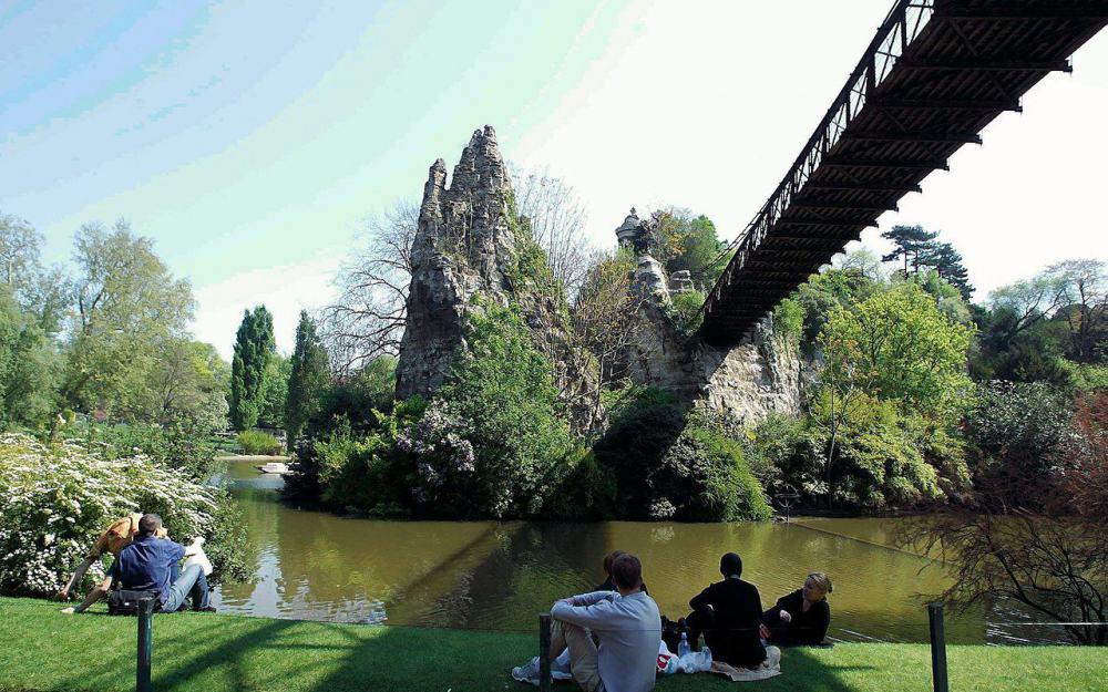 Jardin des buttes chaumont