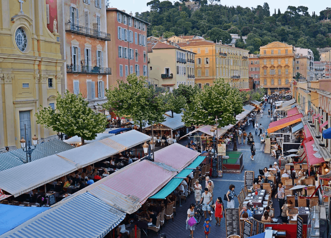 Nice – Cours Saleya
