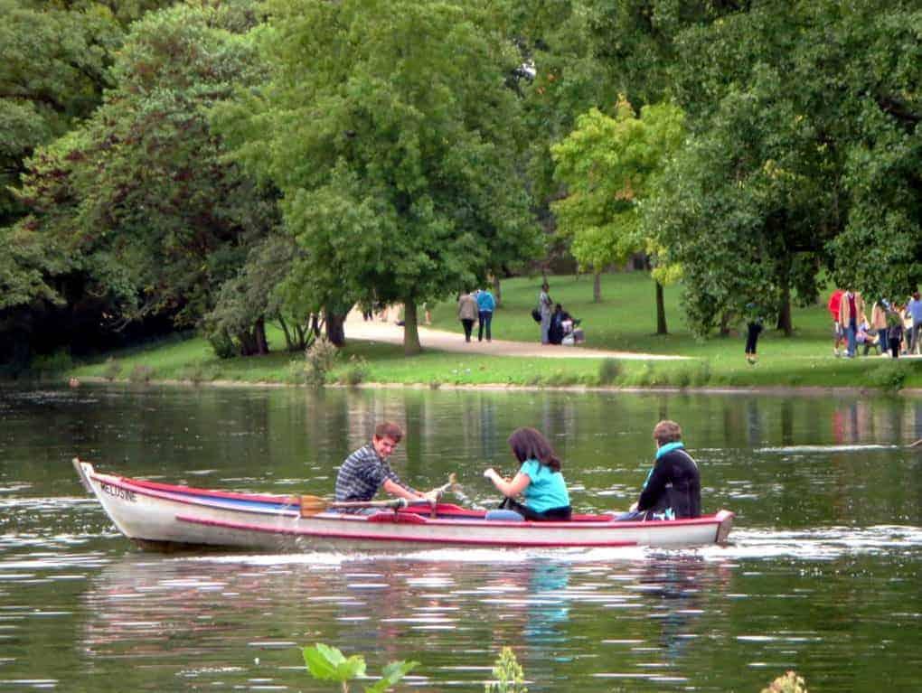 Parc de Vincennes.