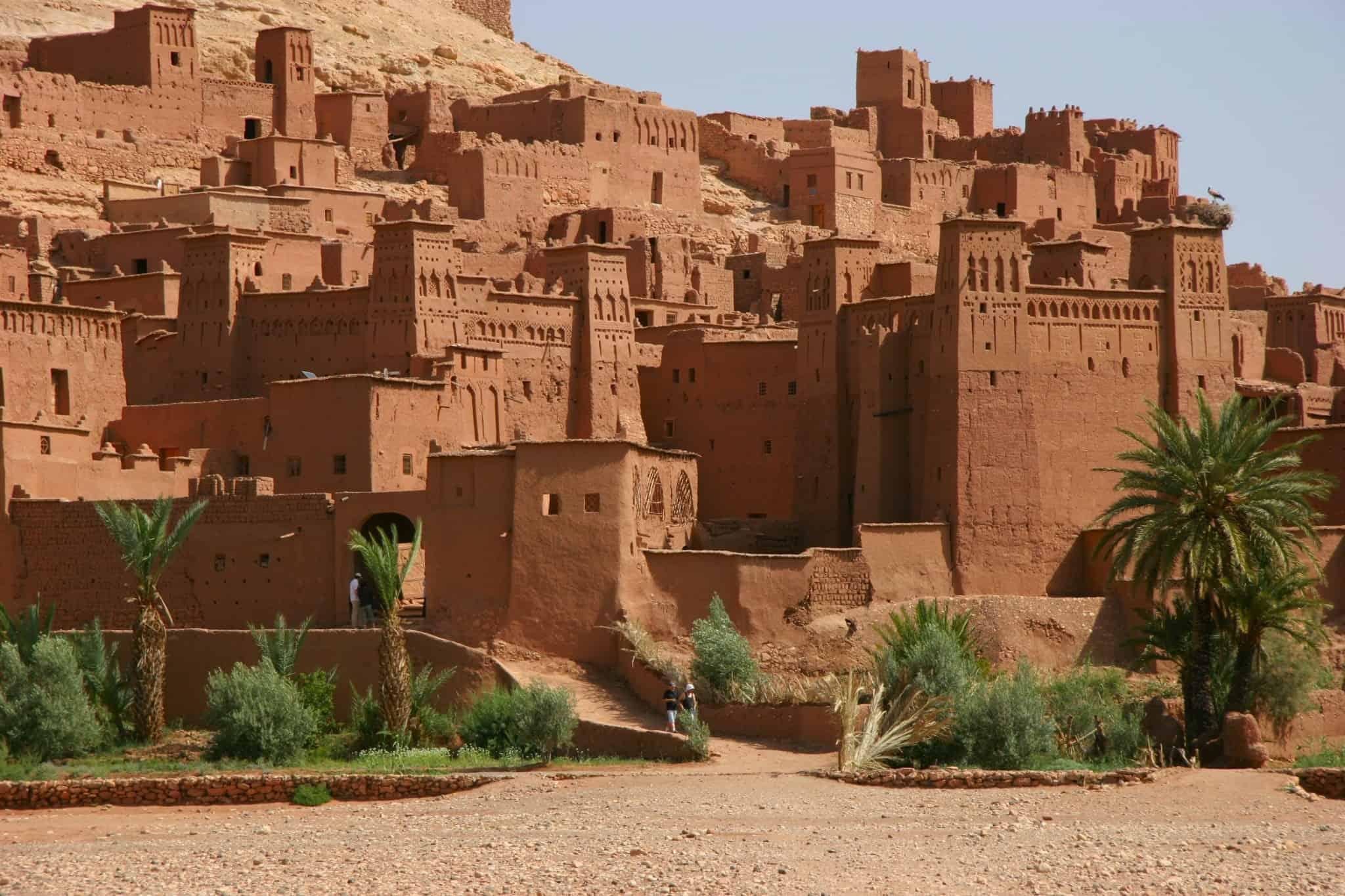 زيارة ورزازات و ايت بن حدو في المغرب