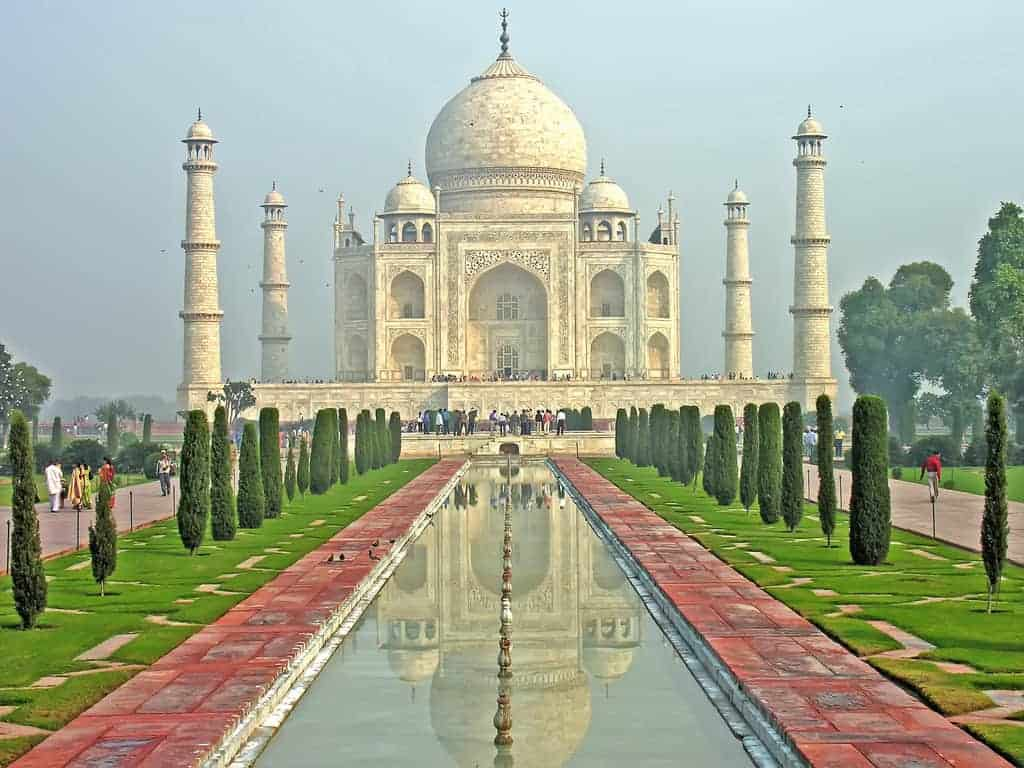 تاج محل و اغرا في أغرة الهند