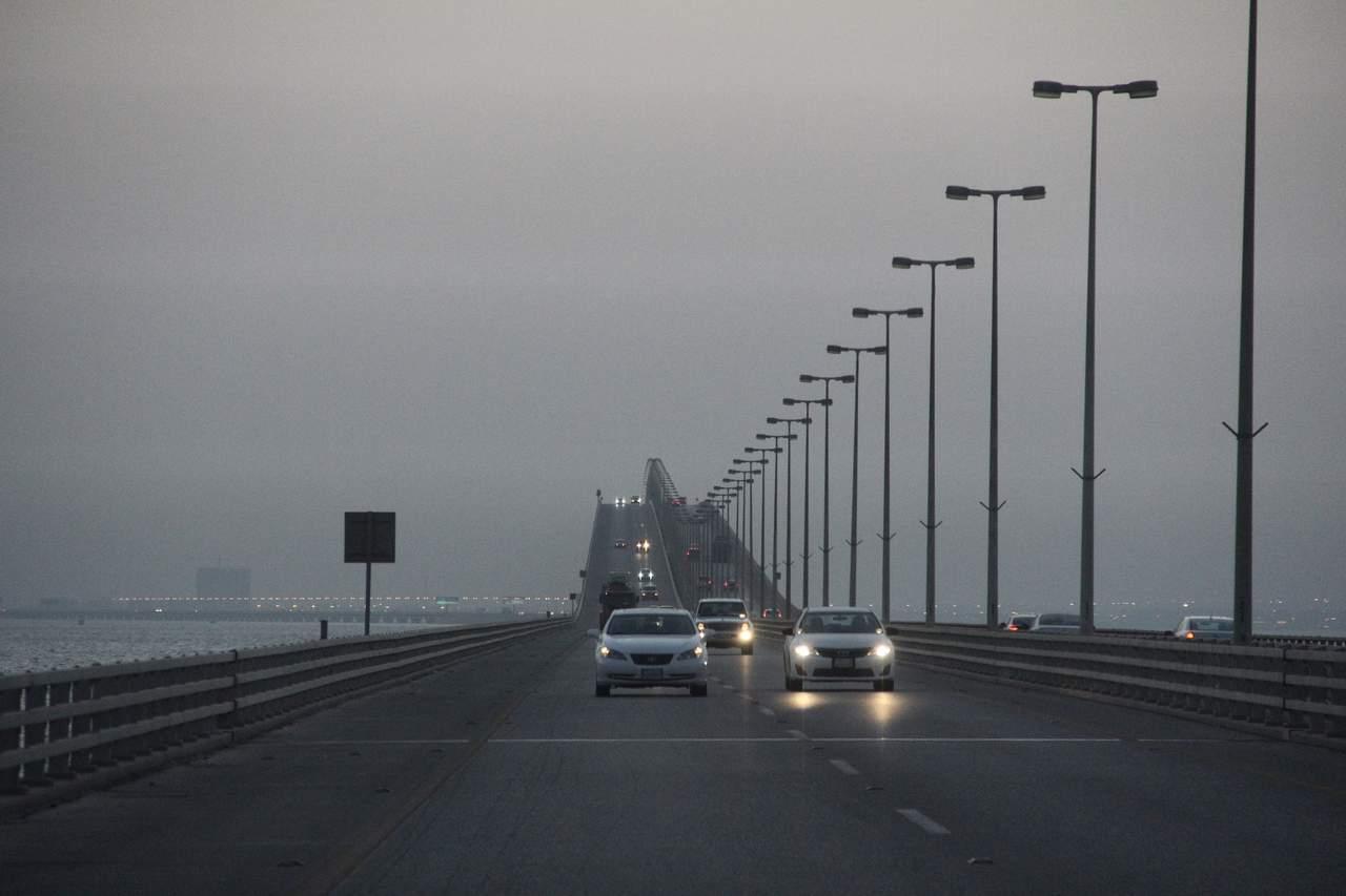 الطريق من الكويت إلى البحرين