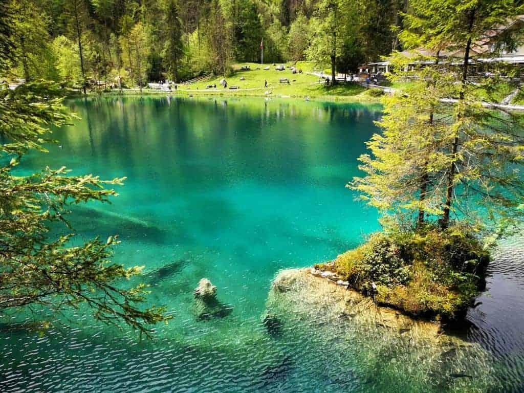 بحيرة بلوسي Blausee