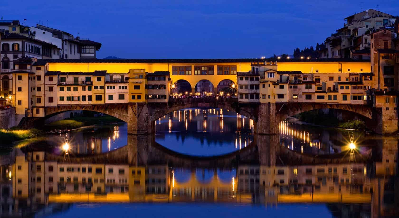 جسر ponte vecchio