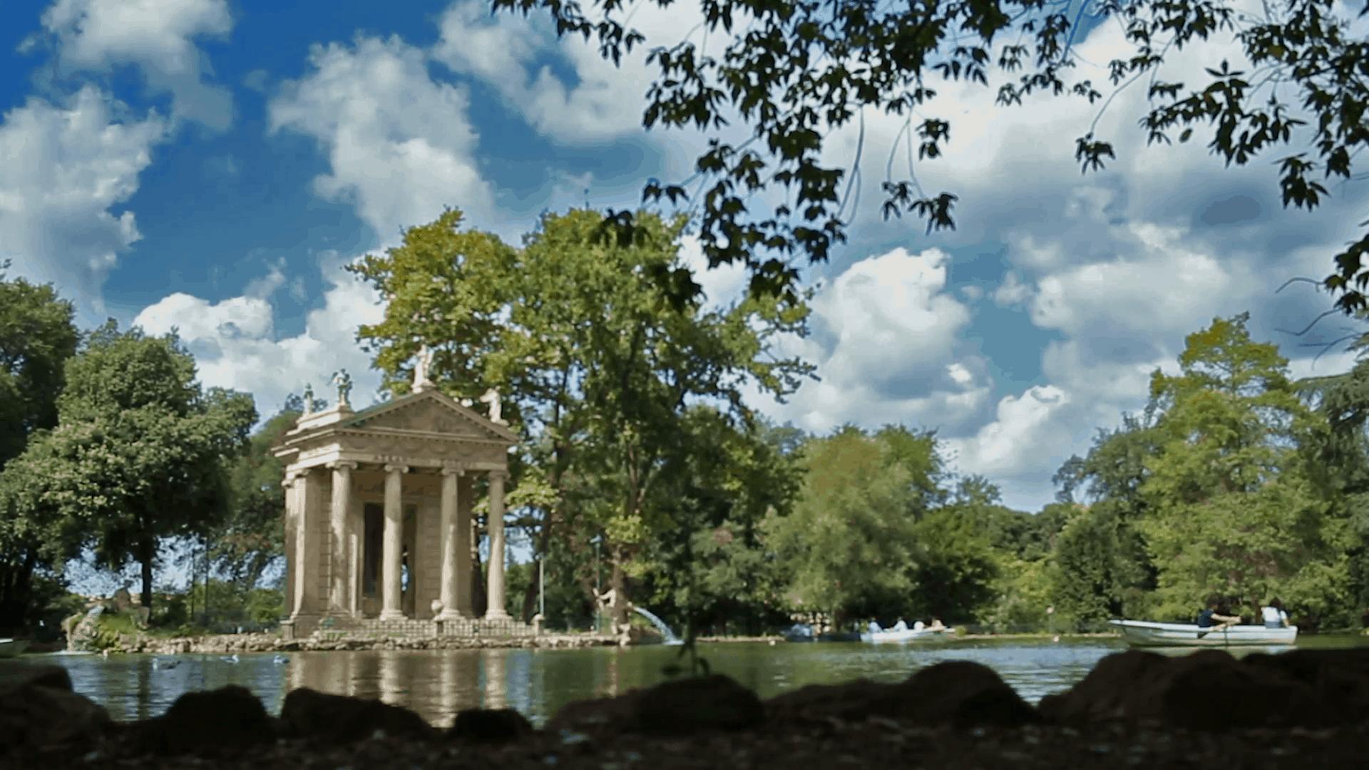 حديقة villa borghese
