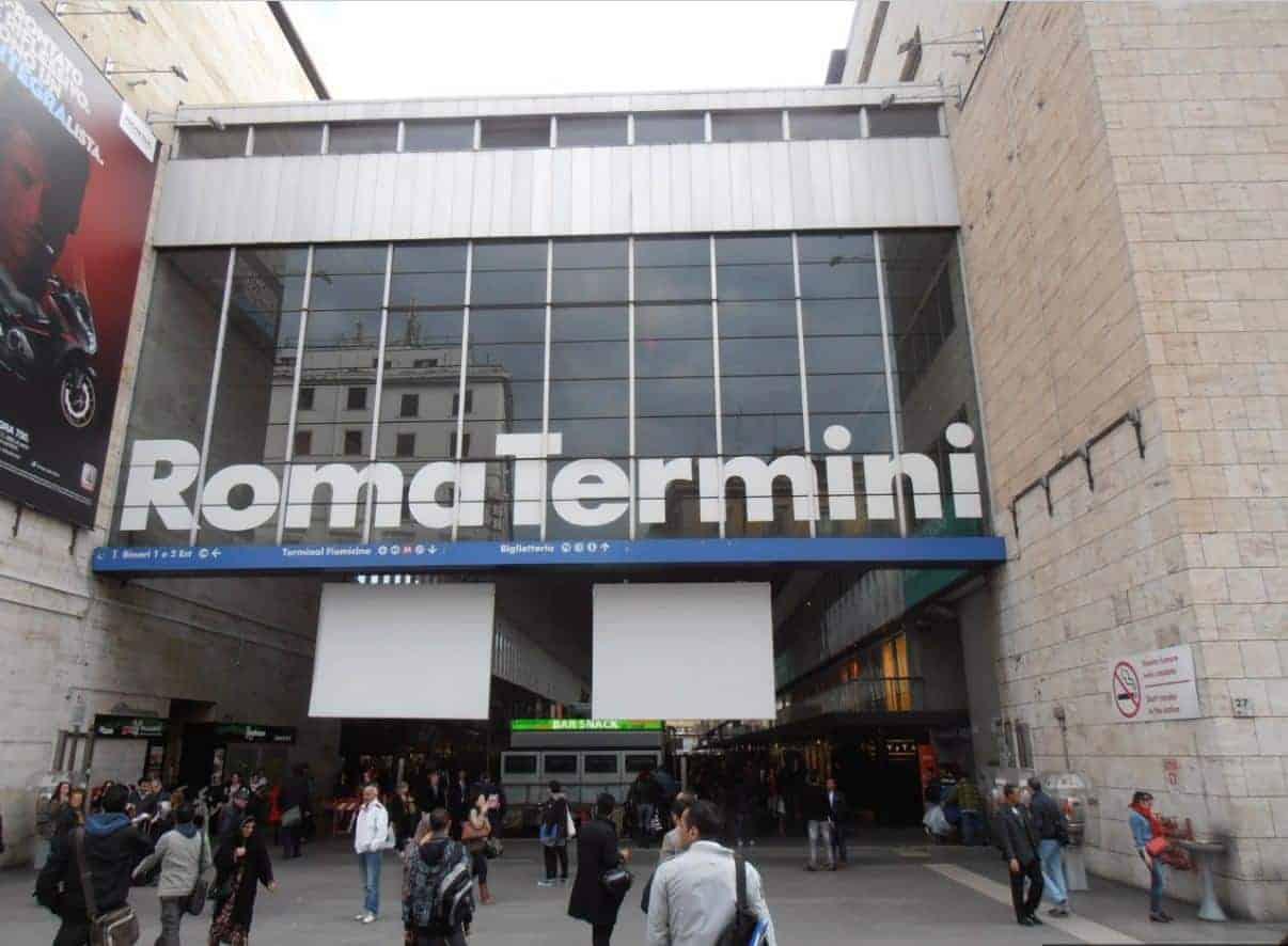 محطة القطار في روما