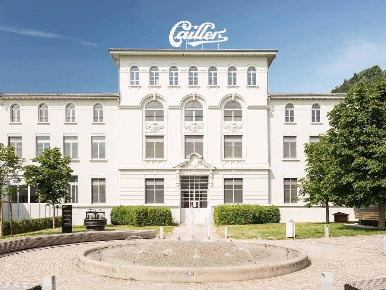مصنع الشوكولاتة في جنيف