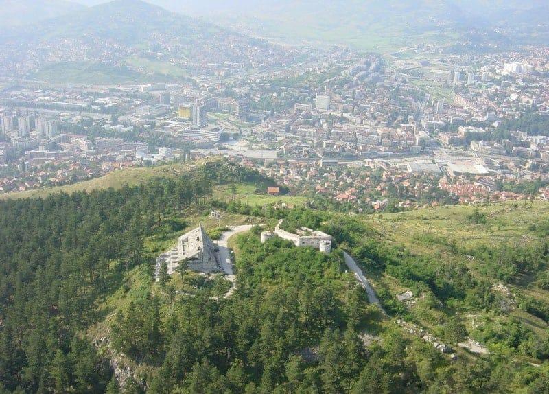 جبل Trebevi