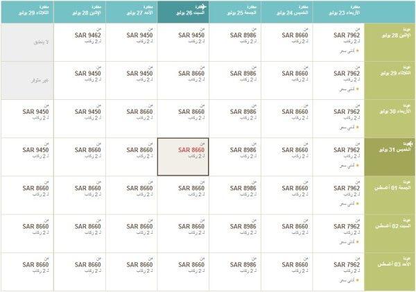 طيران الإمارات من الدمام إلى المالديف