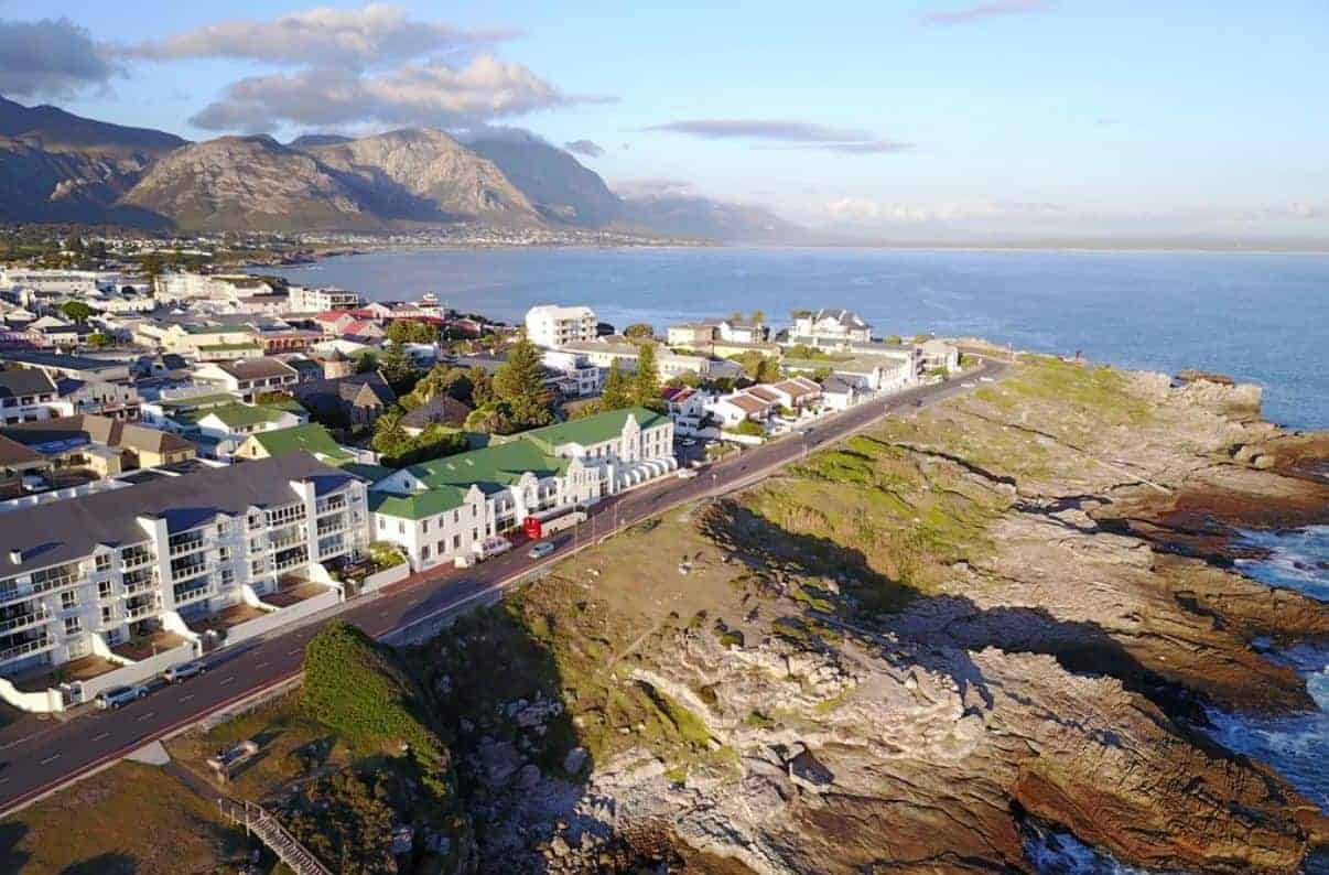 أماكن الإقامة في جنوب أفريقيا