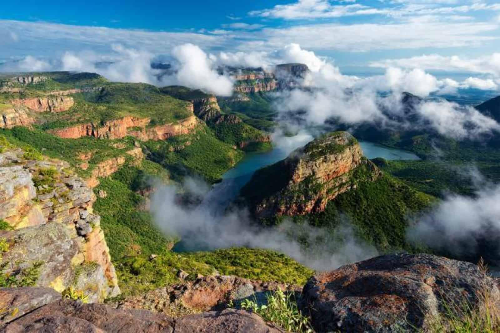 الطبيعة البرية في جنوب أفريقيا