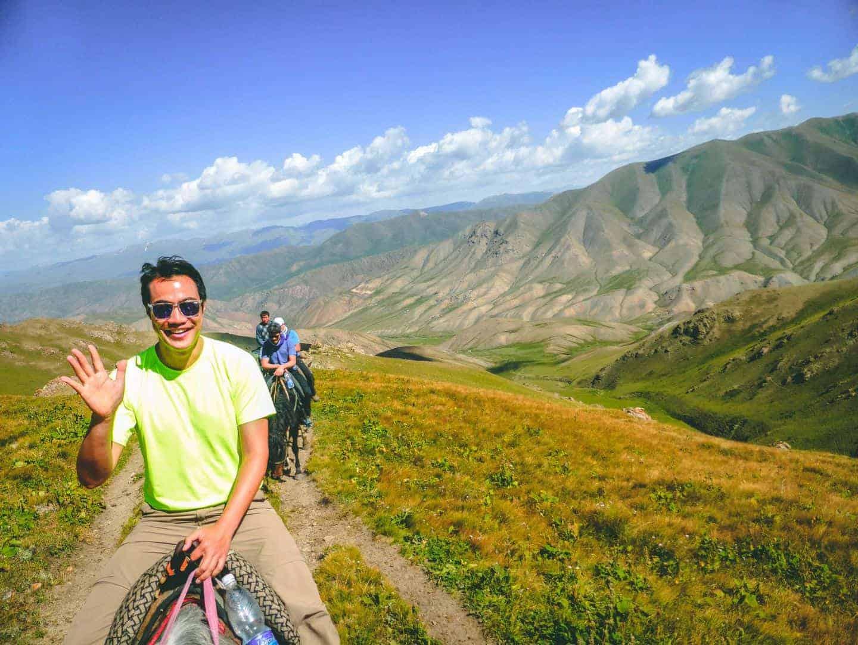 ركوب الخيل في جبال الارجا