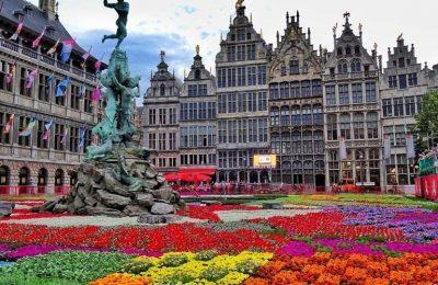 أنتويرب درة بلجيكا مدينة الماس والأزياء