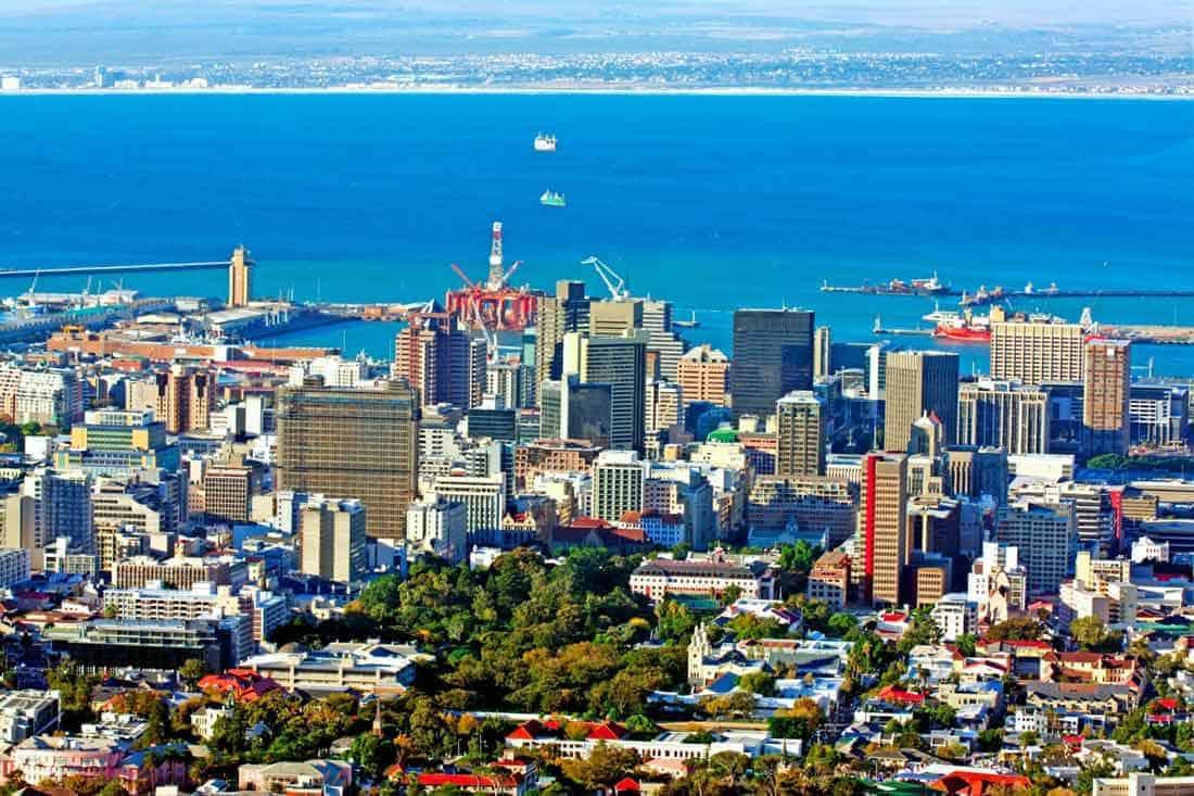 السكن في جنوب أفريقيا