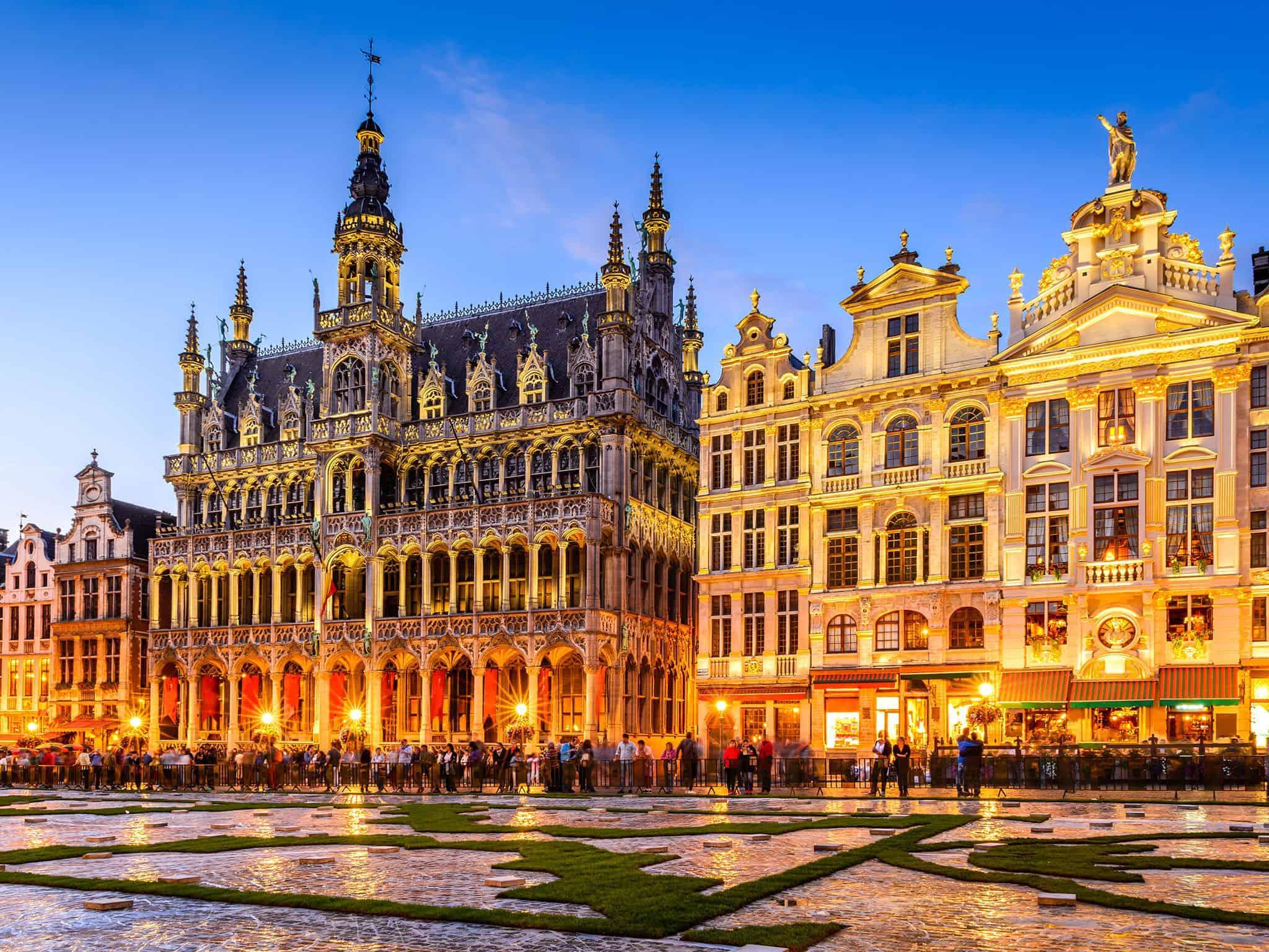 تقرير بلجيكا والدول المجاورة المسافرون العرب