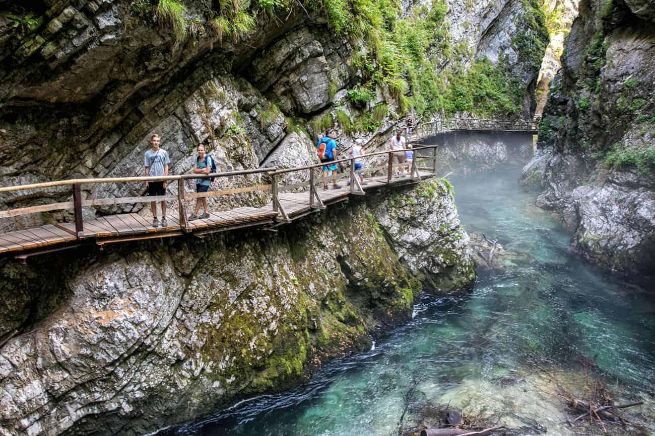 الطبيعة الجبلية في سلوفينيا