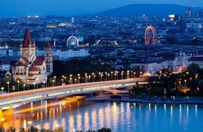 اين تقع فيينا وما هي اهم المدن القريبة منها ؟