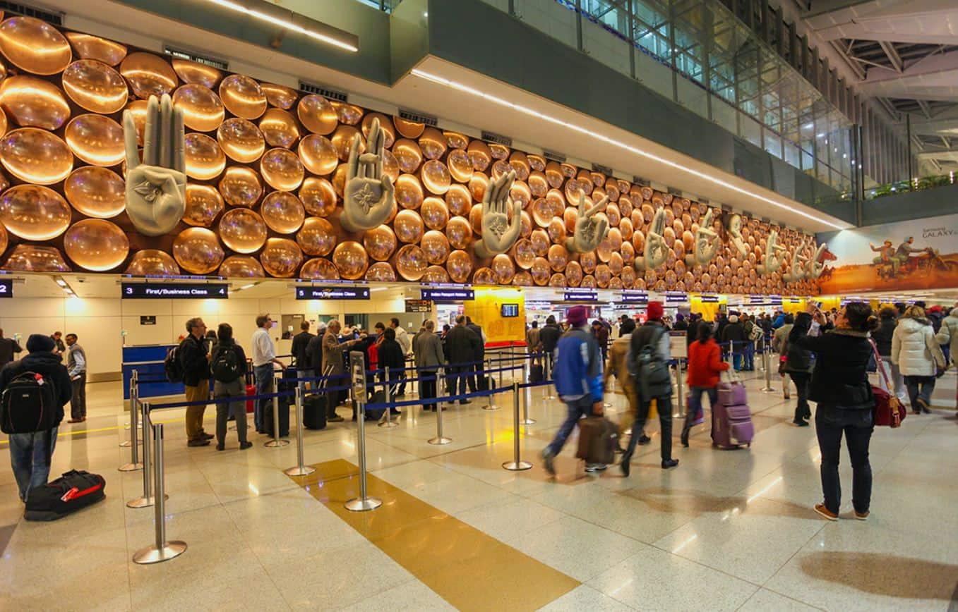 مطار نيودلهي الدولي