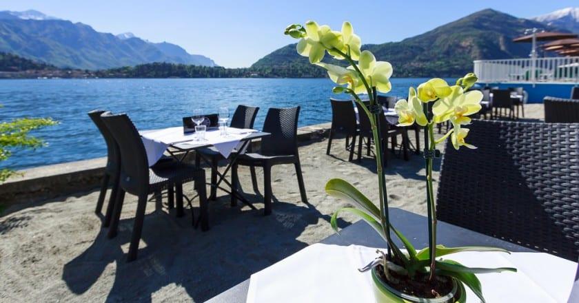 افضل المطاعم المجربة على بحيرة كومو الايطالية