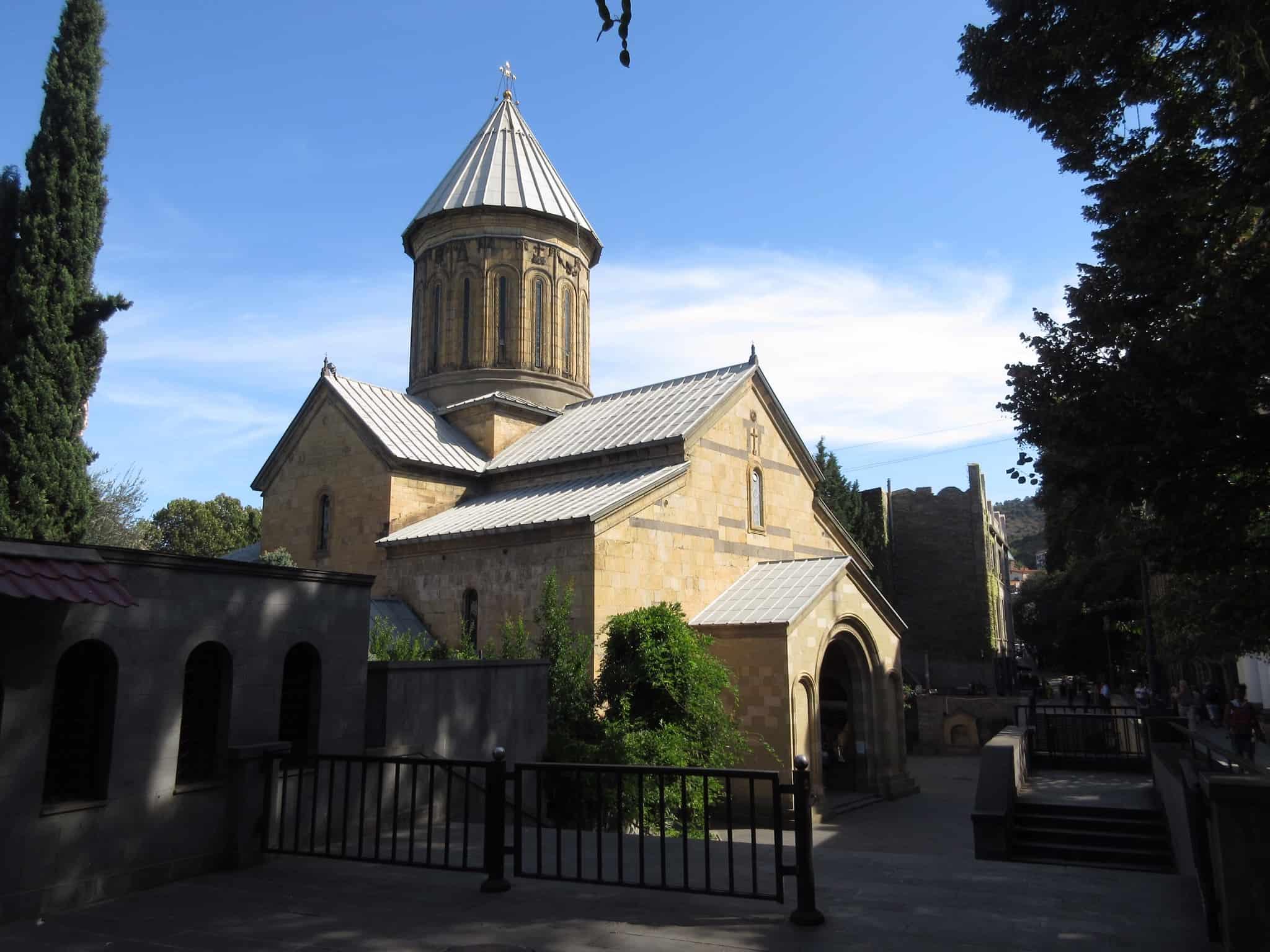 كنيسة سيوني في تبليسي جورجيا