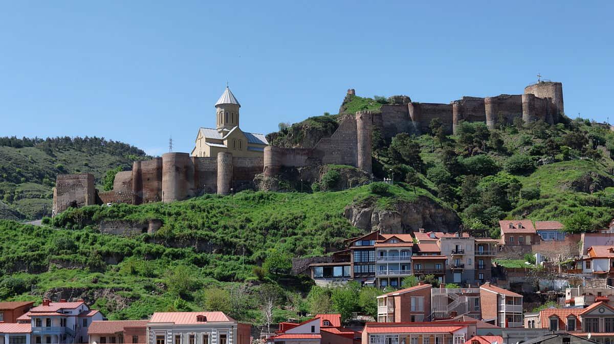 قلعة ناريكالا تبليسي جورجيا