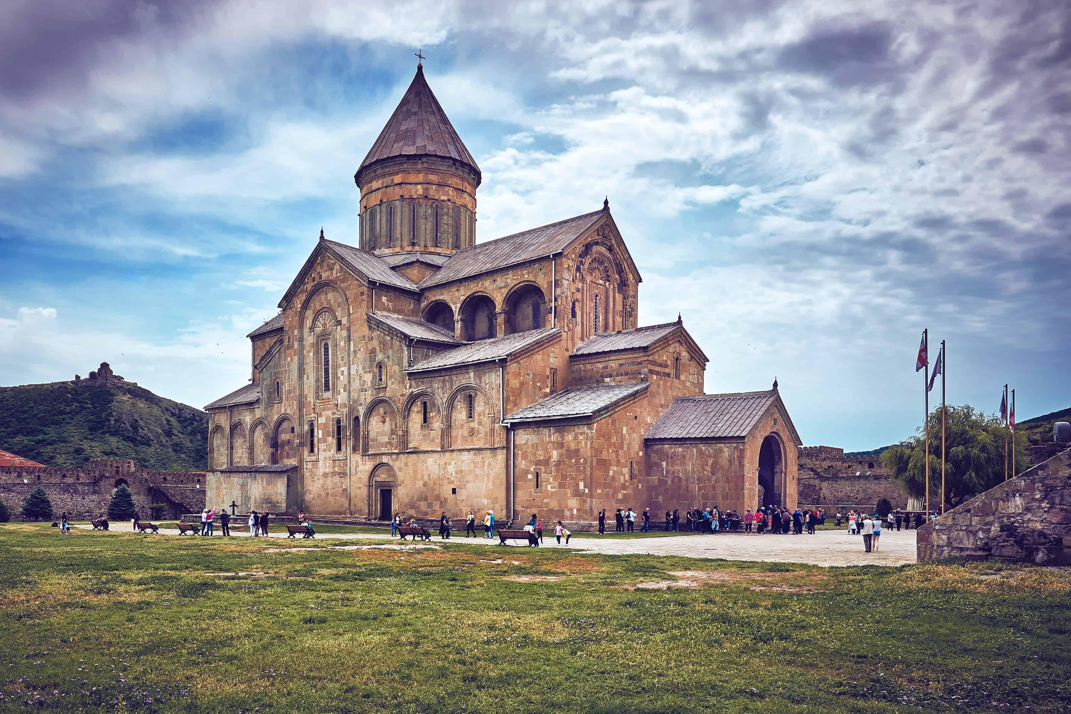 كنيسة كاتدرائية سفيتيتسكوفيلي متسخيتا جورجيا