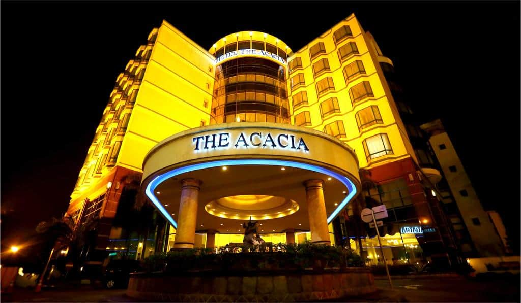 تقرير شامل عن فندق اكاسيا جاكرتا