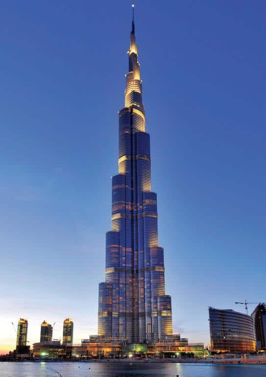 زيارة برج خليفة دبي الإمارات
