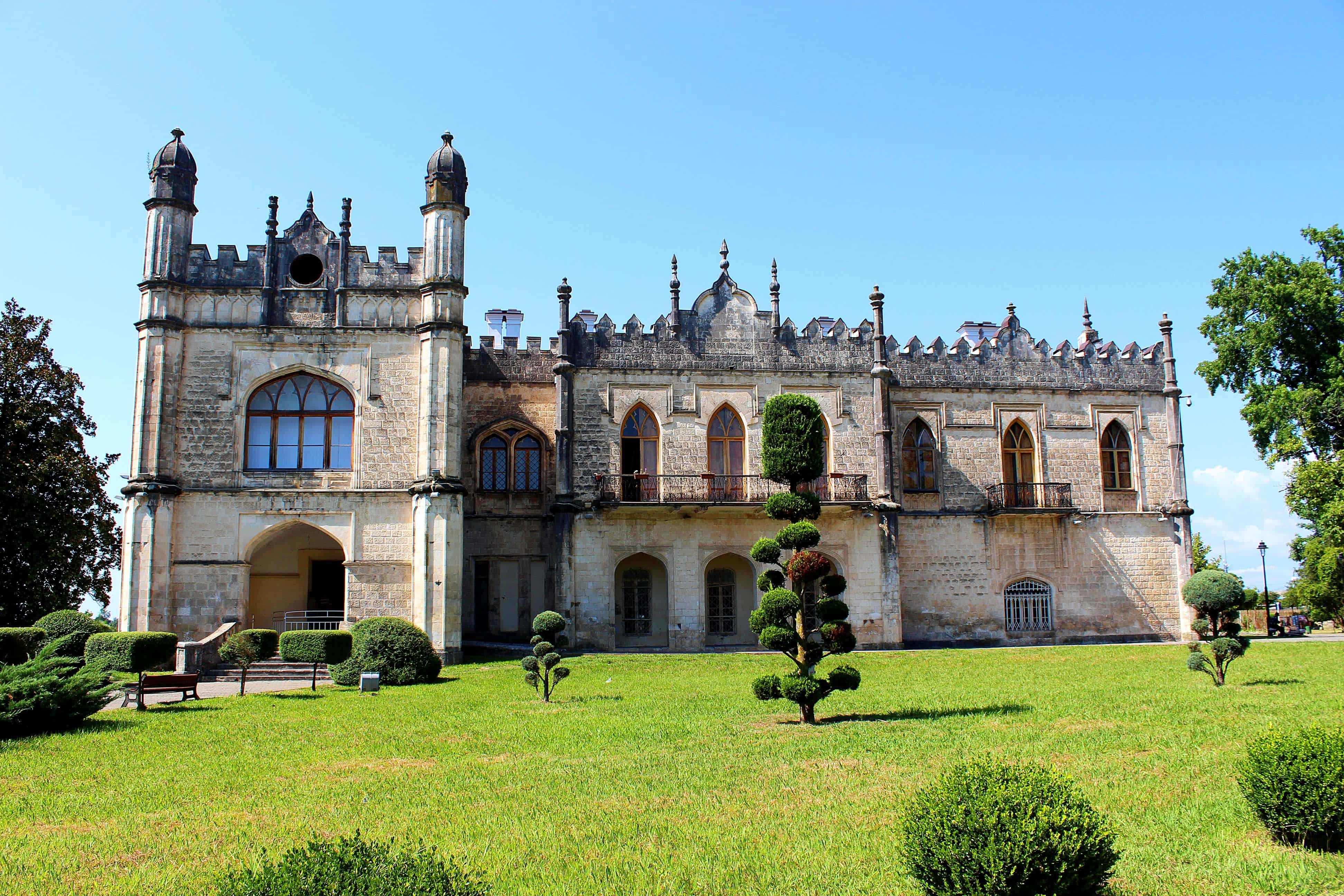 زيارة متحف قصور دادياني التاريخية والمعمارية في زوغديدي