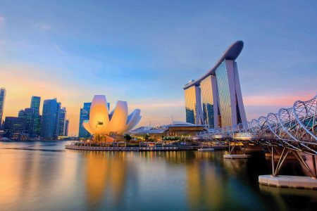 تكلفة السفر الى سنغافورة