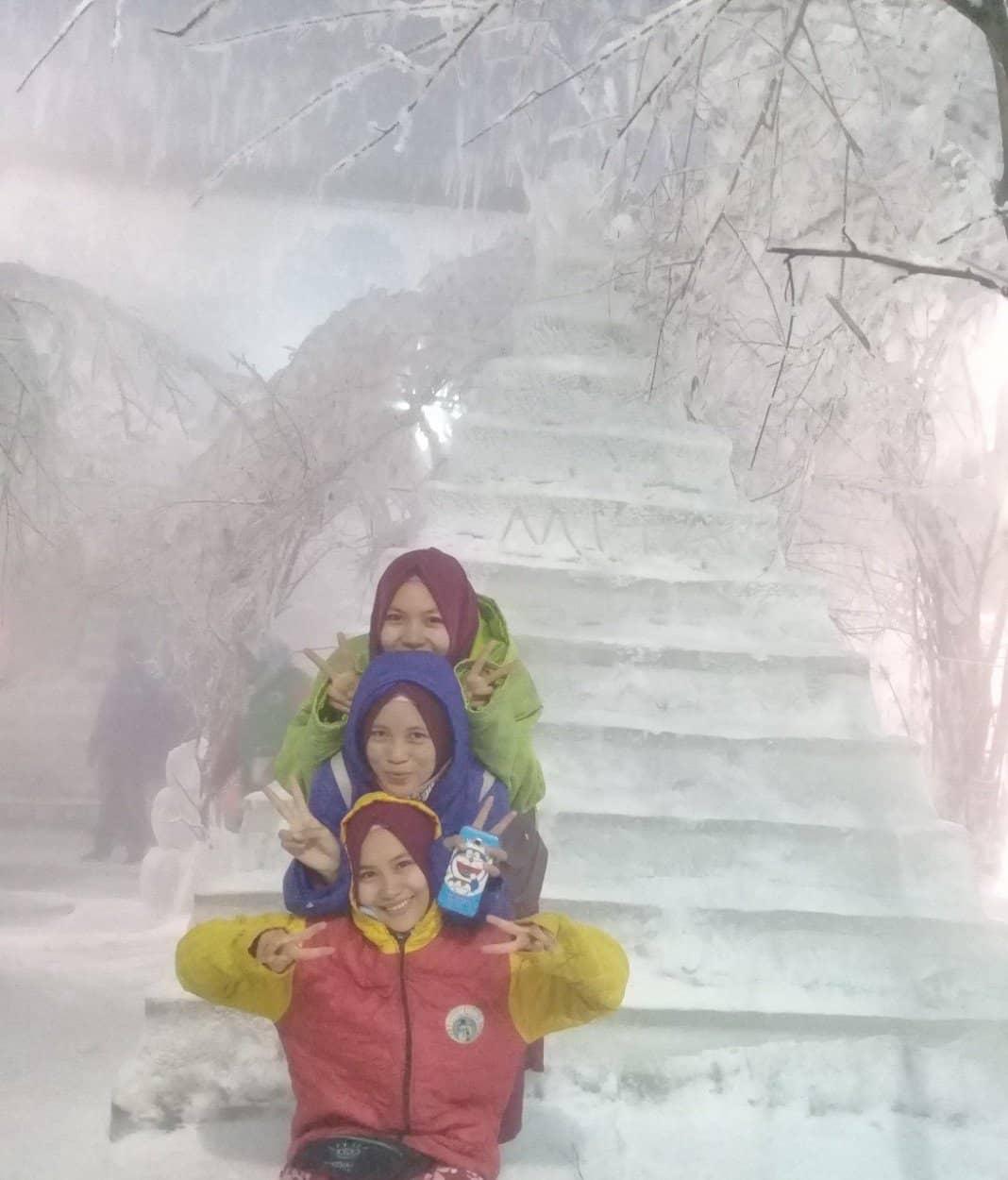افضل 3 أنشطة في عالم الثلج جاكرتا