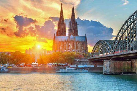اين تقع كولونيا والمسافة بينها وبين اهم مدن المانيا