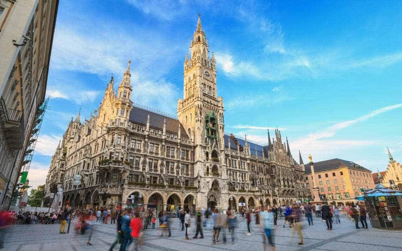 اين تقع ميونخ والمسافة بينها وبين أهم مدن المانيا