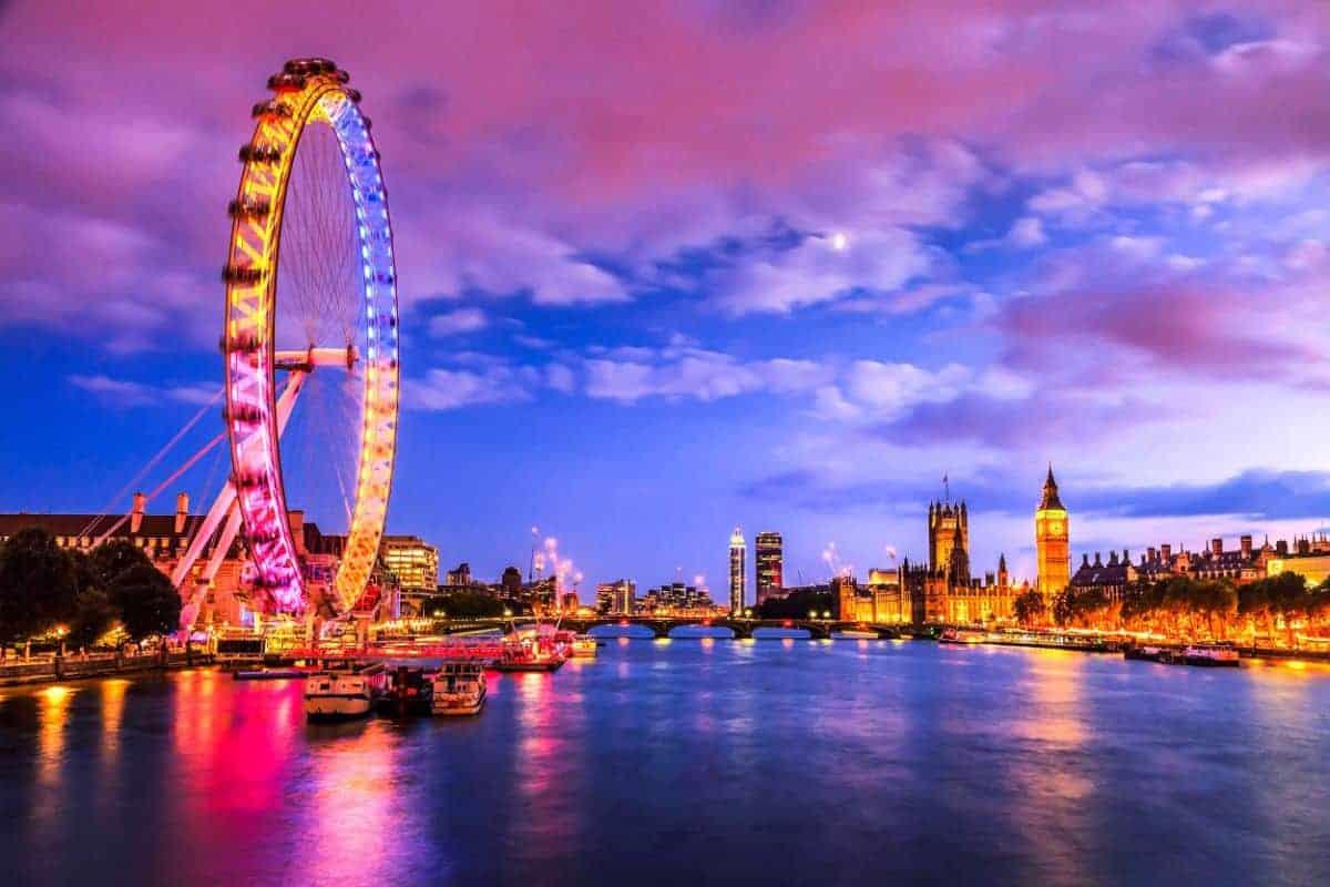 اين تقع لندن وما هي اهم المدن القريبة من لندن