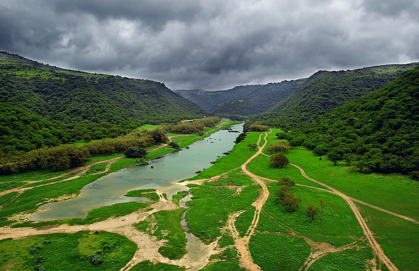وادي دربات عمان