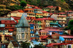 جولة في مدينة تبليسي