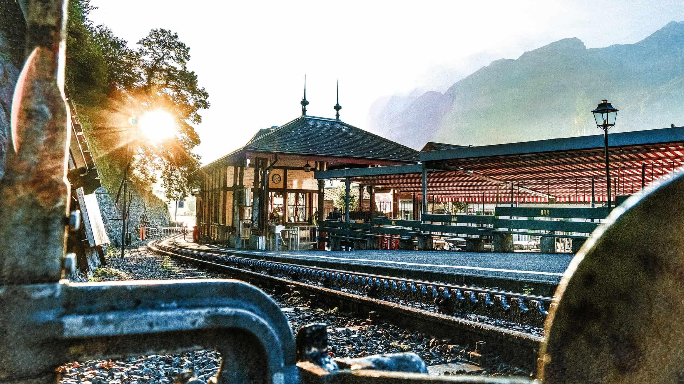 افضل انشطة في قطار الطبيعة في انترلاكن سويسرا