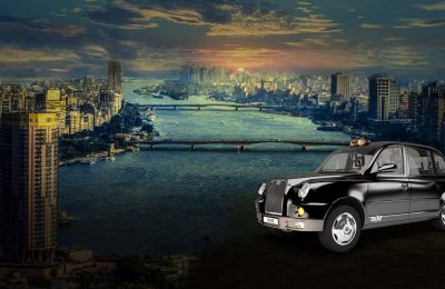 سيارة أجرة من مطار القاهرة الدولي
