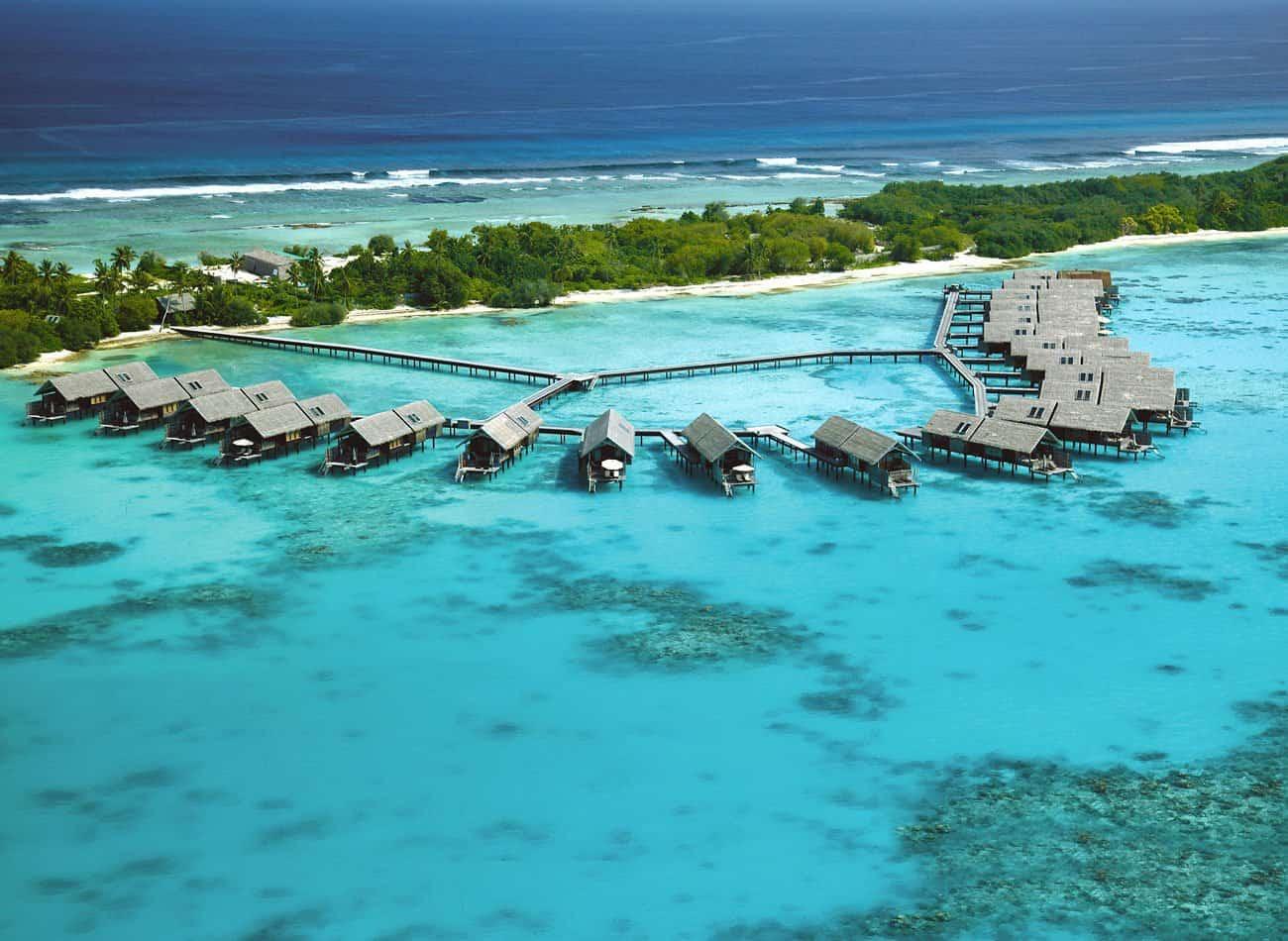 تقرير حصري ومميز عن منتجع شانغريلا المالديف
