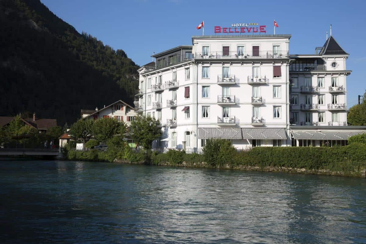 تقرير عن فندق بيلفو انترلاكن بالصور