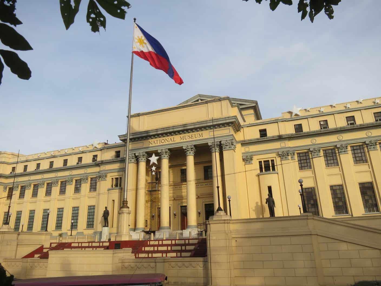 افضل 5 انشطة في المتحف الوطني الفلبيني مانيلا