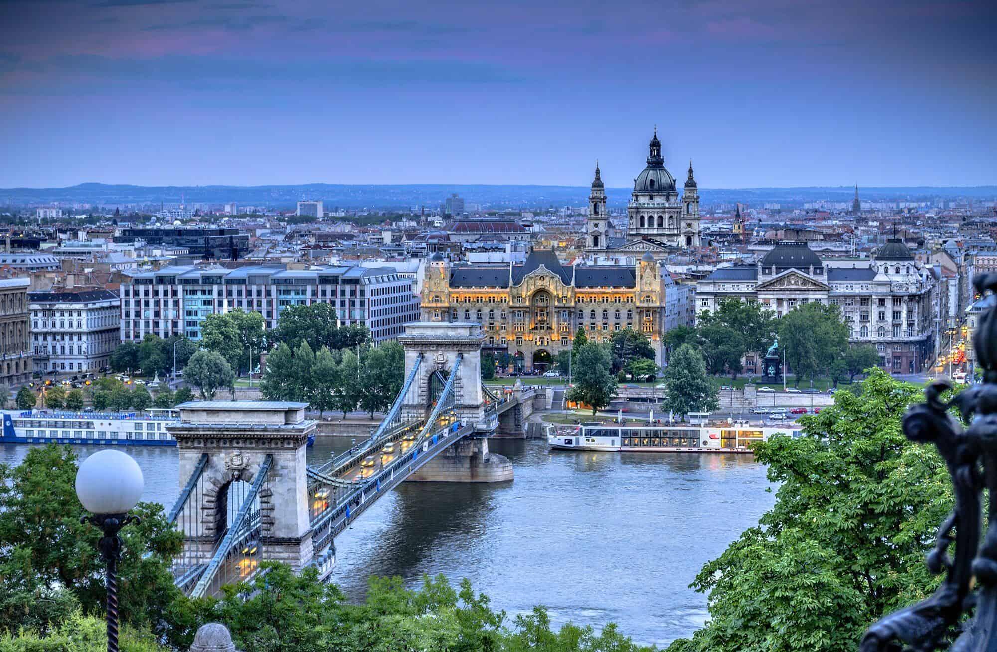 جولة داخل مدينة بودابست