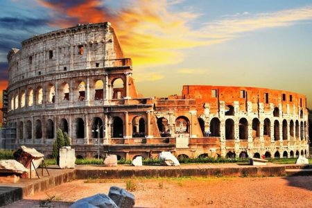 أين تقع روما وما المدن القريبة منها؟
